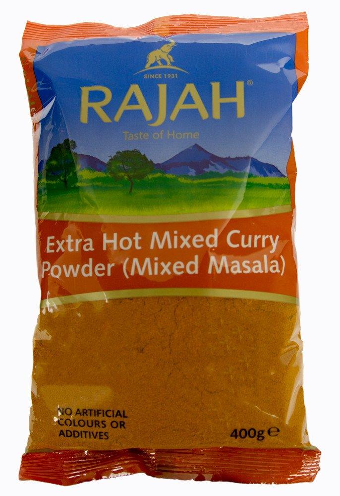 Rajah Mixed Curry Free shipping New Ranking TOP17 Powder 400Gm Extra Hot Masala