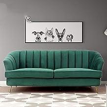 Double Sofa Small Apartment Modern Minimalist Fabric Sofa Bedroom Living Room Folding Lazy Sofa Bed