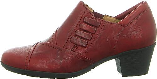 Gabor - zapatos de Vestir para mujer rojo Dark-rojo