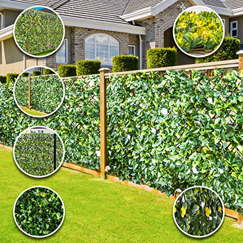 WDC ONLINE - eXtreme Instant Artificial Screening Fencing Realistic 2M x 1M - Can Be Extended! (Summer 2m x 1m)