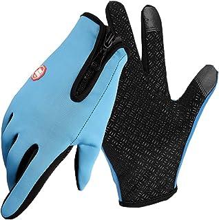 comprar comparacion Guantes Invierno Hombre Mujer Guantes Termicos para frio moto ciclismo running bici gym para movil Tactiles Regalos Origin...