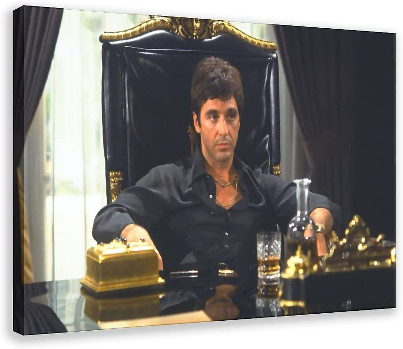 80 90s Milwaukee Mall Movie Scarface Poster Excellence 4 Canvas Art Decor Prin Wall