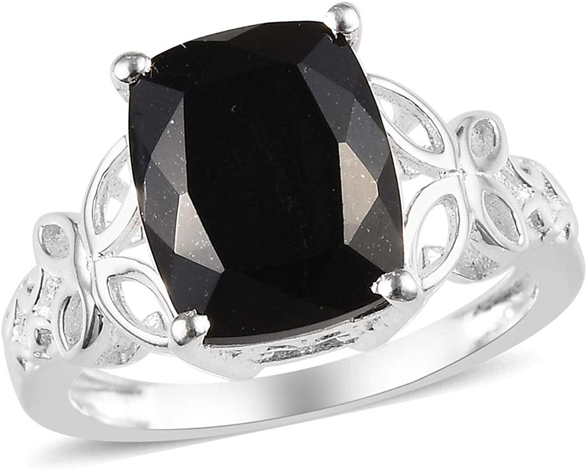 Shop LC Black Tourmaline Recommended Spinel Ring For Great interest G Women Statement