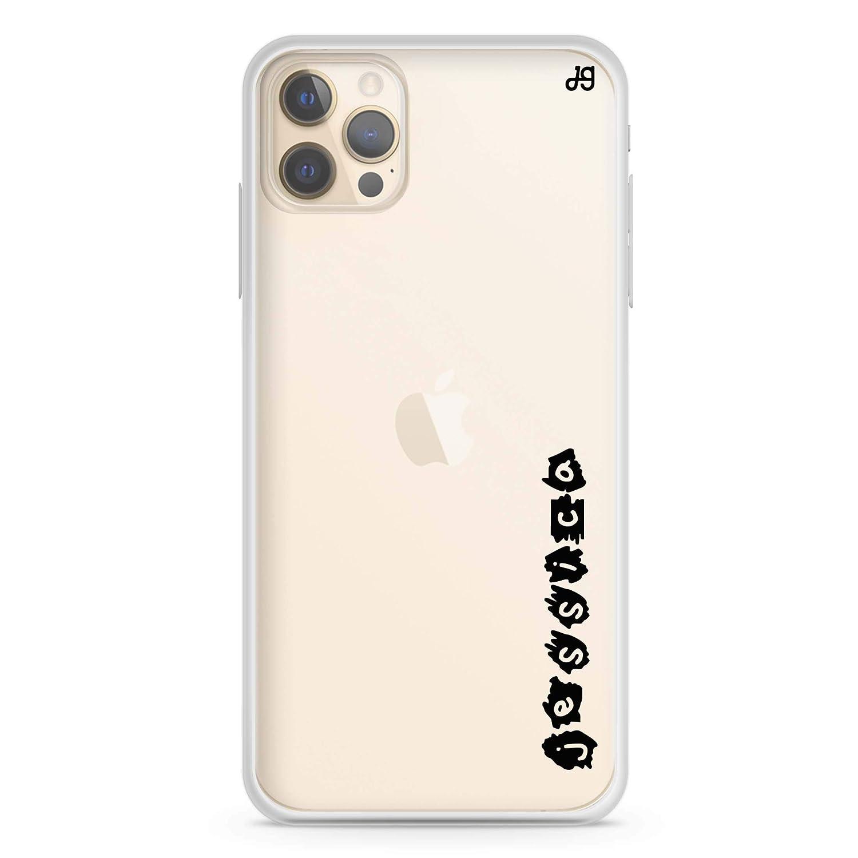 Sticker Custom Name II Latest item iPhone 12 Case Direct store Pro Max Soft Clear