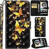 Ooboom Alcatel Shine lite 5080X Hülle 3D Flip PU Leder