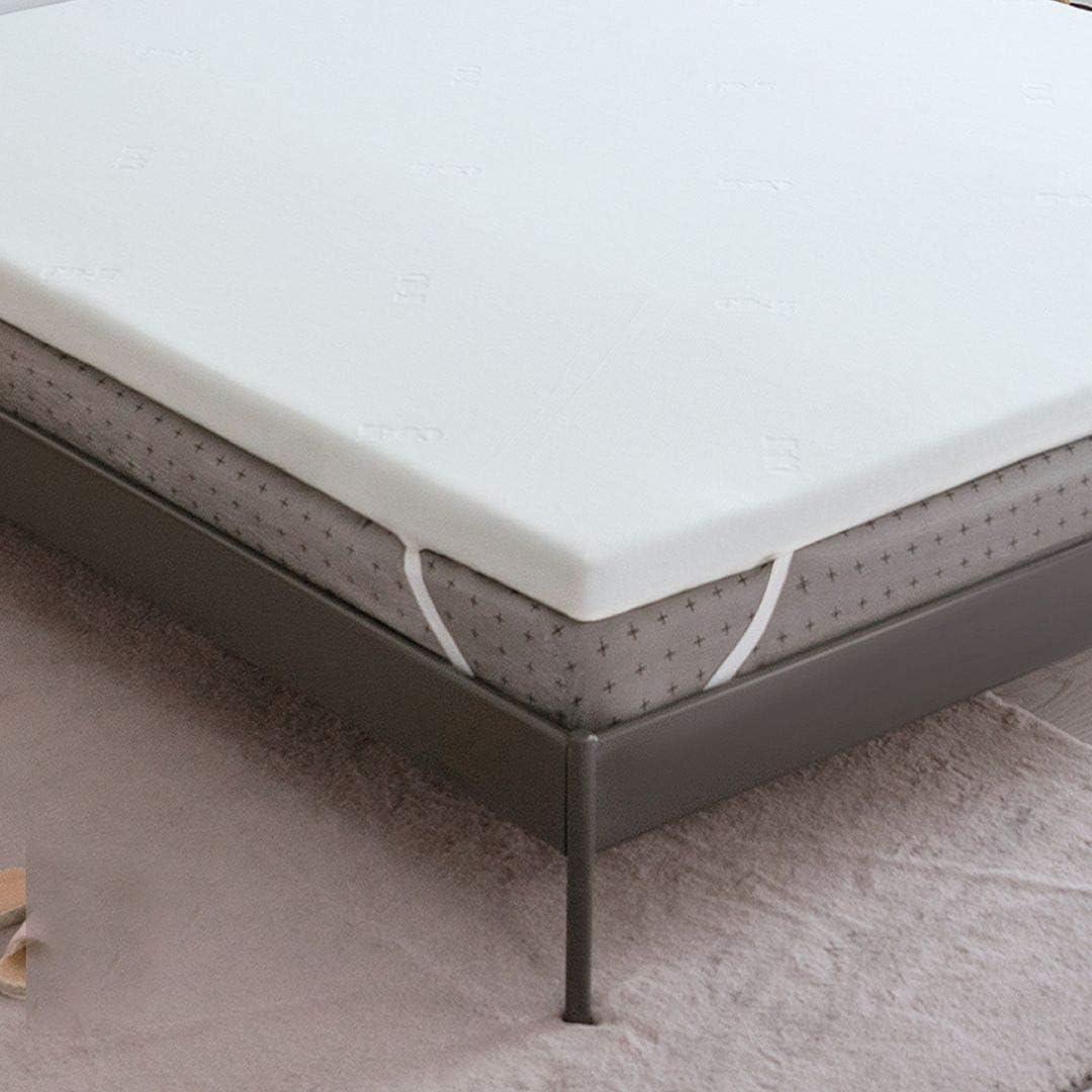 CO-Z 贈答品 贈呈 3-Inch Gel-Infused Cool Memory Foam Queen Mattress Topper