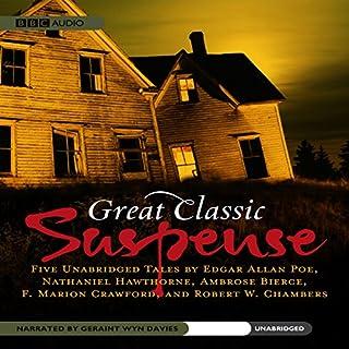 Great Classic Suspense audiobook cover art