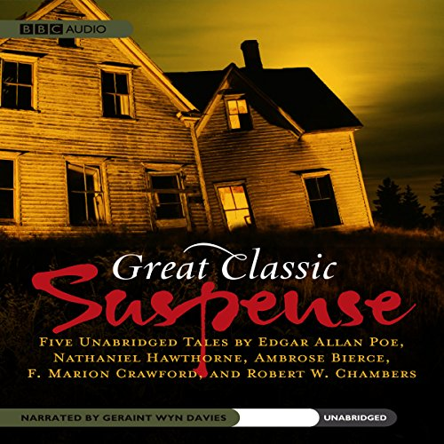 Great Classic Suspense audiobook cover art