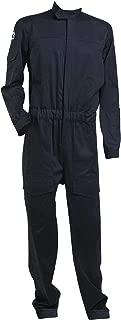 Men's Imperial Tie Fighter Pilot Flightsuit Jumpsuit Black Cosplay Costume