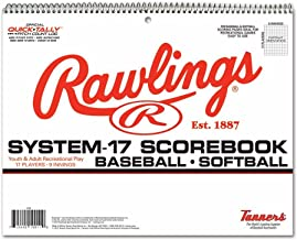 Rawlings System-17 Baseball & Softball Scorebook