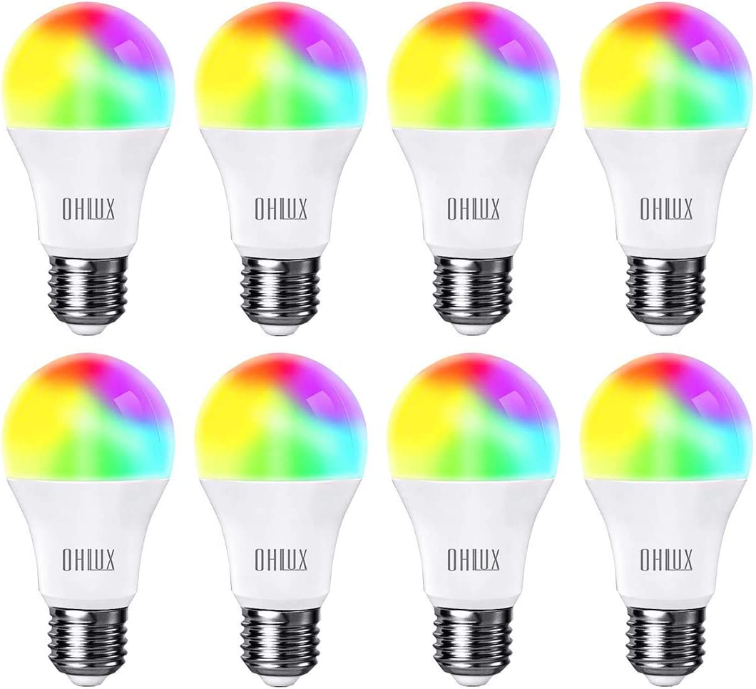 Superior OHLUX Smart WiFi LED Light Tucson Mall Compat 100W Bulbs 900Lumen Equivalent