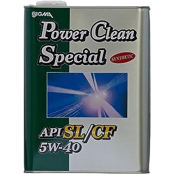 三油化学 シグマ エンジンオイル パワークリーン スペシャル 5W40 SL/CF 4L [HTRC3]