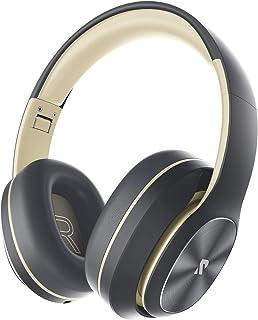Rydohi Draadloze hoofdtelefoon over het oor, [100 uur speeltijd] Bluetooth-hoofdtelefoon, opvouwbare hifi stereo bas, zach...