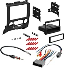CACHÉ KIT365 Bundle with Complete Car Stereo Installation Kit Compatible with 2008-2012 Ford Escape - in Dash Mounting Kit, Antenna, OEM Harness for Single or Double Din Radio Receiver (4 Item)
