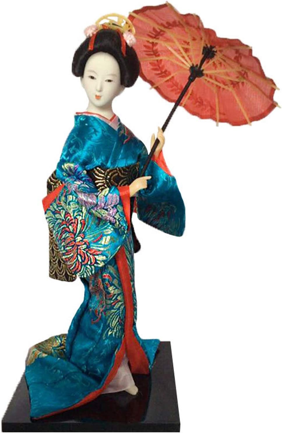 Siunwdiy 12 inch Mini Japanese San Jose Mall Geisha Collectibles Art wit Doll 70% OFF Outlet