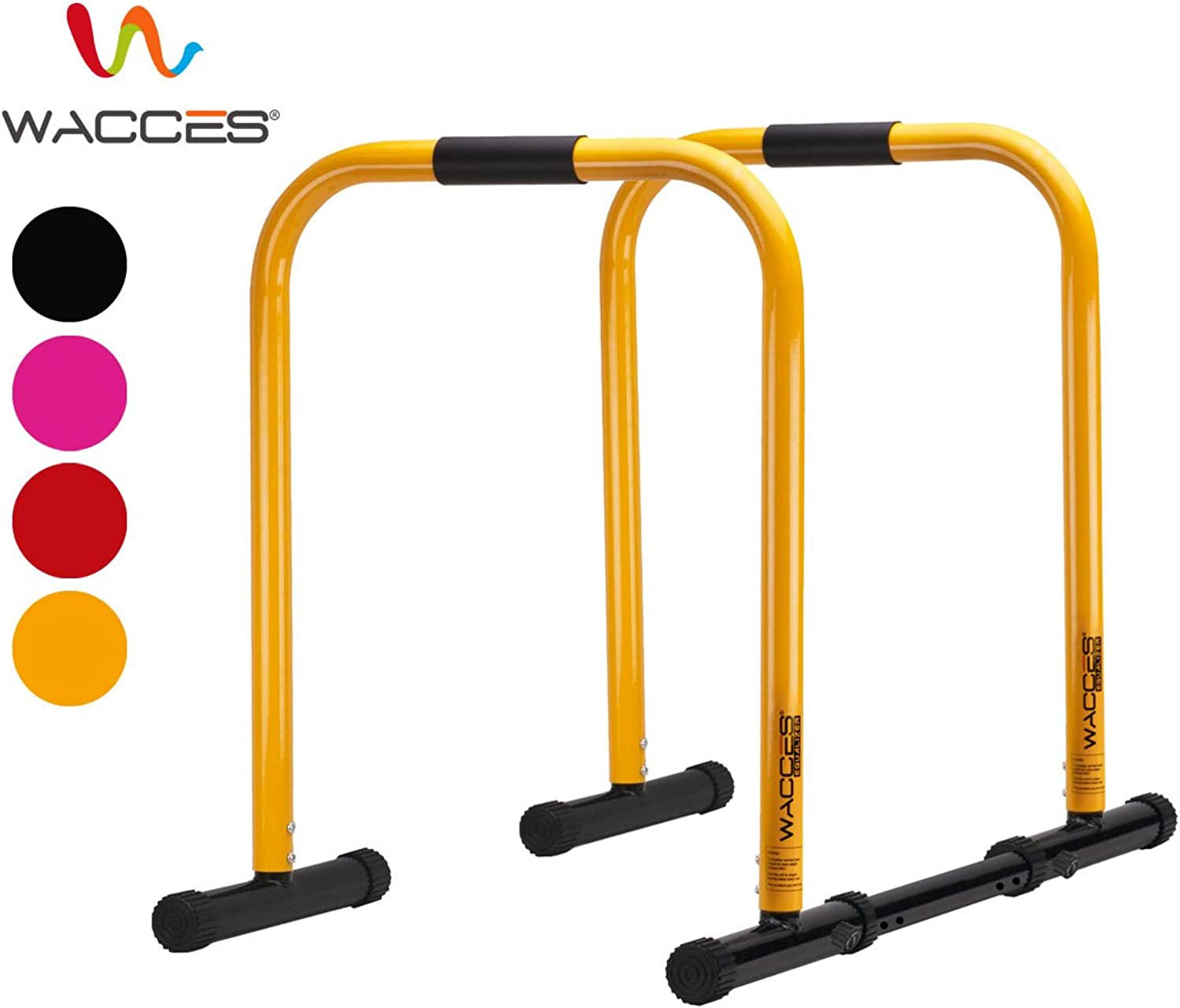 Wacces Heavy Duty Functional Fitness Station Stabilizer Dip