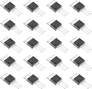 Bridgold 20pcs TIP42C TIP42 PNP Epitaxial Silicon Power Transistor, General Purpose, 6 A, 100 V, 3-Pin TO-220