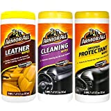 Armor All Wipes Car Interior Cleaning Bonus Pack Leather, Cleaning & Protectant