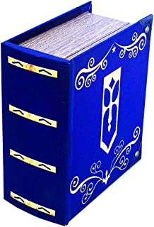 Grimoire Pro Tour Deck Box, Avalon - Wooden Spellbook Style Large Capacity Trading Card Deck Storage (350+ Cards) for MTG ...