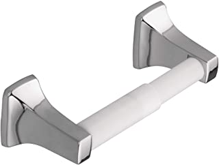 Moen P5050 Soporte de papel de baño, contemporáneo, blanco (White Roller)
