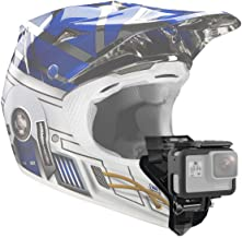 VGSION Full Face Motorcycle Helmet Chin Mount for GoPro Hero 8, Hero 5 Session, Insta360 One R and Similar Action Camera