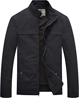 Men's Stand Collar Cotton Military Jacket