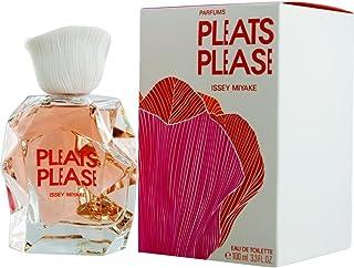 Issey Miyake Pleats Please Eau de Toilette Spray for Women, 3.3 Ounce