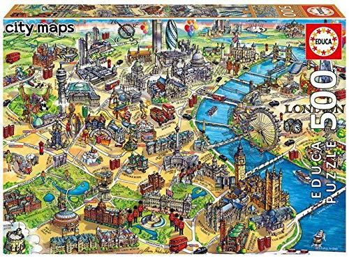 Puzzle Londres marca Educa