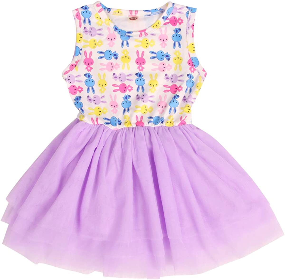 Super-cheap CM WODRO Max 46% OFF Toddler Baby Girl Tu Bunny Outfit Easter Sleeveless