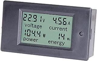 HiLetgo DC 6.5-100V 0-20A LCD Display Digital Ammeter Voltmeter Multimeter Current Voltage Power Energy Battery Monitor Amperage Meter Gauge with Built-in Shunt