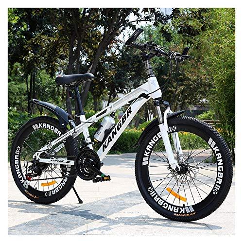 MUYINGASD Kinder Student Bergsport Cross Country Fahrrad Junge 8-15 Jahre Alt 20 Zoll 22 Zoll 24 Zoll 26 Zoll Erwachsene Doppelscheibenbremsen Stoßdämpfung,D,26
