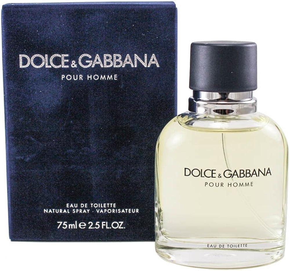Dolce&gabbanna pour homme eau de toilette, uomo, 75 ml DOLCE-074443