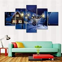 Decorative Spray Painting Cartoon Christmas Eve Movie Poster Wall Art Canvas