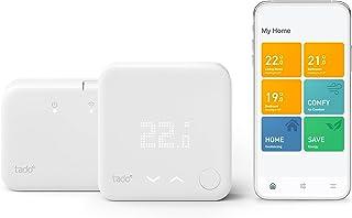 tado° Draadloze Slimme Thermostaat Starterskit V3+ – Intelligente verwarmingsaansturing, Designed in Germany, werkt met Am...