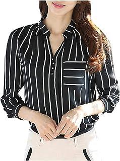 Women Plus Size Long Sleeve Linen Baggy Blouse Shirt Ladies Tunic Tops