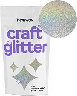 Hemway Craft Glitter 100g 3.5oz Microfine 1/256
