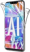 AICEK Funda Huawei Mate 20 Lite, Transparente Silicona 360°Full Body Fundas para Huawei Mate 20 Lite Carcasa Silicona Funda Case (6,3 Pulgadas)