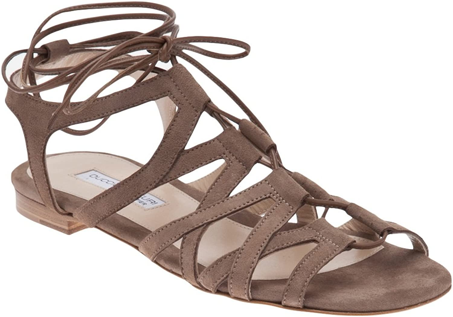 Duccio Venturi Beige Greek Sandals 36.5