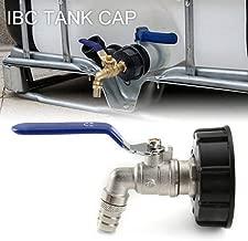RENNICOCO Adaptador de Grifo de Tanque IBC Conector de Rosca