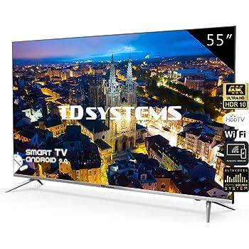 Televisores Smart TV 55 Pulgadas 4K UHD Android 9.0 y Hbbtv / 1300 ...