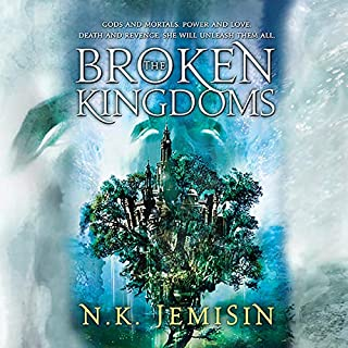 Page de couverture de The Broken Kingdoms