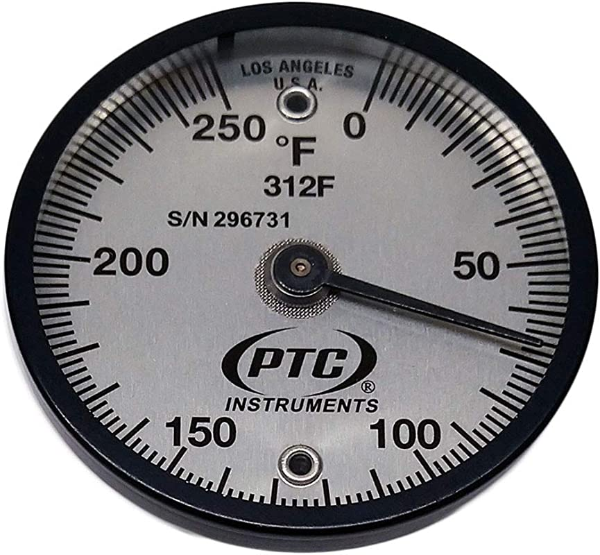 PTC 312F Magnetic Surface Thermometer 0 To 250 F