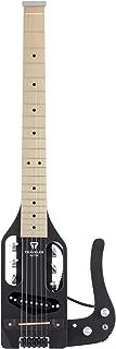 Traveler Guitar 6 String Solid-Body Electric Guitar, Right, Matte Black (PSS BKMMP)