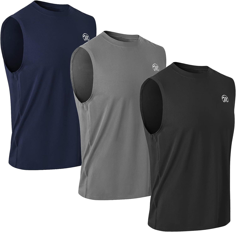 MEETWEE Deportes Camisetas Hombre, Camiseta de Manga Corta Ropa para Hombre para Running Atletismo