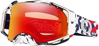 Oakley Airbrake MX TLD Adult Off-Road Motorcycle Goggles - Patriot RWB w/Prizm MX Torch Iridium/One Size