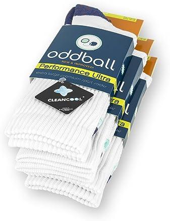 a5ee6b53b8 Oddball Performance Plus II Men s Crew Socks XXL (Men s Size 14-18) (
