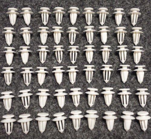 Lot de 60 Revêtement de Porte Clips fixation clip Support