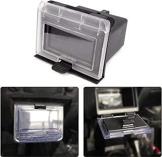 kemimoto RZR Center Dash Storage Box, ABS Center Compartment Compatible with Polaris RZR 1000 900S 2014-2018