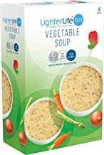 LighterLife Fast Vegetable Soup Weight Loss Powder Meal Replacement Soup High in Protein with 25 of RDA Vitamins and Minerals 4 x 40g Servings per Box Estimated Price : £ 9,99
