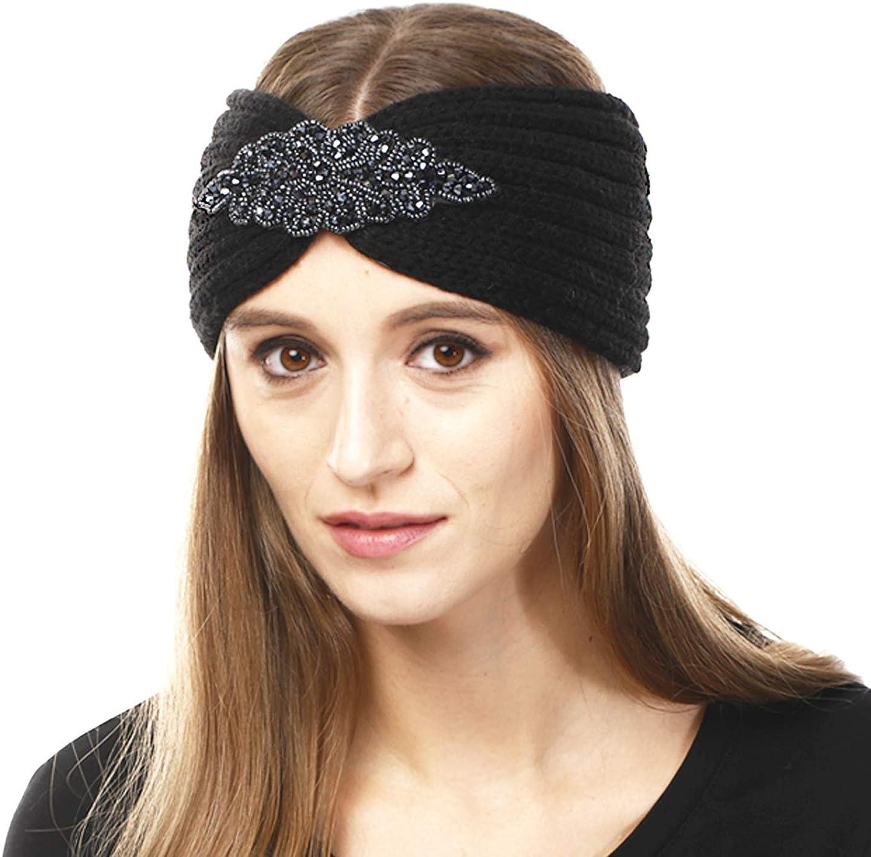 Women's Winter Soft Warm Knit Head Band Ear Warmer Head Wrap